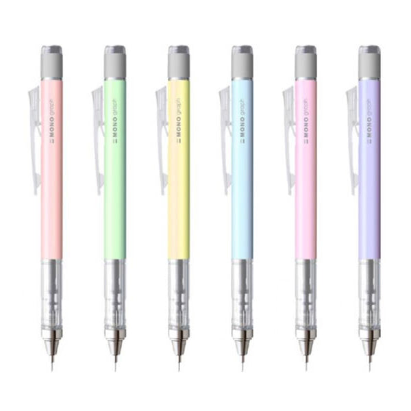 Tombow Mono Graph Shaker Mechanical Pencil - Limited Edition - Pastel Colour - 0.5 mm