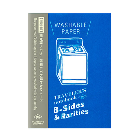 Traveler's Company B-Sides & Rarities - Traveler's Notebook Refill - Washable Paper - Passport Size