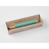Traveler's Company Brass Rollerball Pen - Limited Edition - Factory Green
