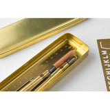 Traveler's Company Brass Pen Case - Pencil Cases - bunbougu.com.au