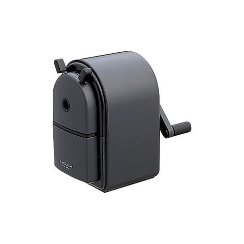 Uni KH-20 Hand Crank Pencil Sharpener - Black