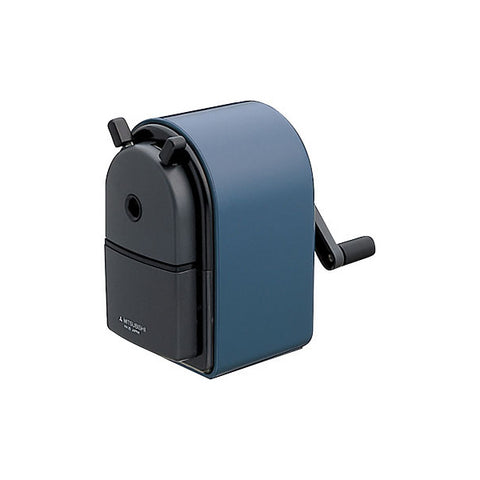Uni KH-20 Hand Crank Pencil Sharpener - Blue