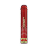 Uni Mitsubishi Lead Holder Refill - Red - 2 mm - Pack of 6 - Pencil Leads - bunbougu.com.au