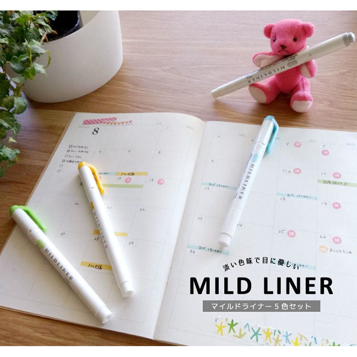 Zebra Mildliner Double-Sided Highlighter - 25 Colors