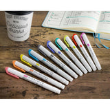 Zebra Mildliner Double-Sided Highlighter - 25 Colour Full Set - Highlighters - bunbougu.com.au