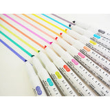 Zebra Mildliner Double-Sided Highlighter - 5 Soft Color Set