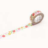 Mt Masking Tape Ex Series - Summer Vegetables - 15 mm x 10 m - Bunbougu