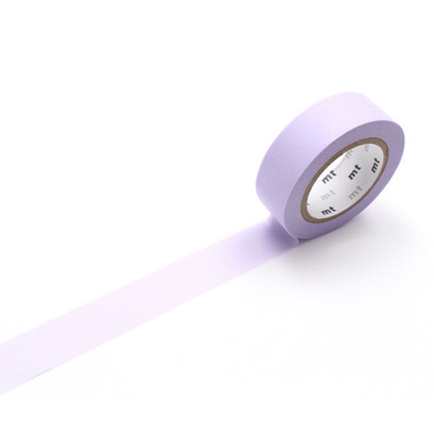 Mt Masking Tape - Pastel Purple - 15 mm x 10 m - Washi Tape - bunbougu.com.au