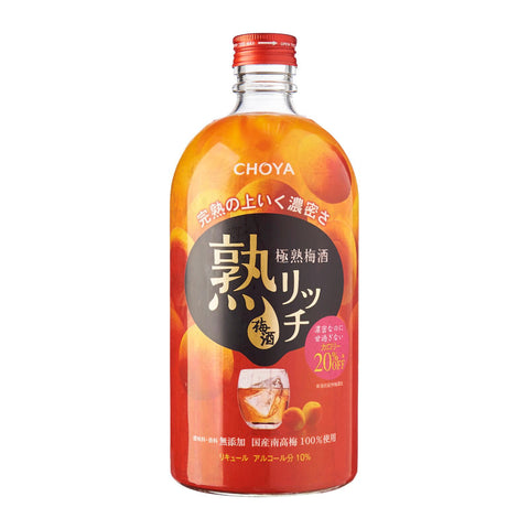 Choya Jyuku Rich Umeshu 720ml - singapore-sake