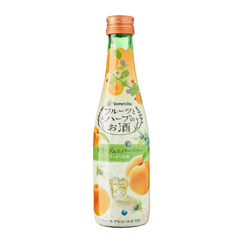 Yomeishu Fruits & Herbs Apricot Juniper Berry - singapore-sake