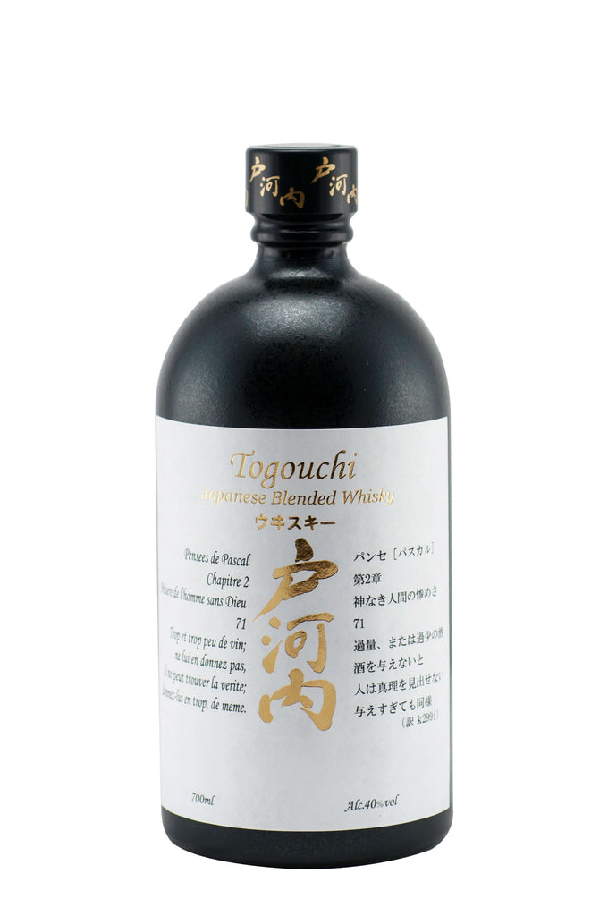 Togouchi Blended Whisky 40% 700ml - singapore-sake