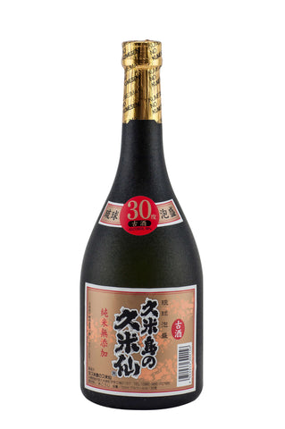 Kumesen Black 30% 720ml - singapore-sake