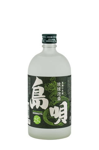 Shimauta 25% 720ml - singapore-sake