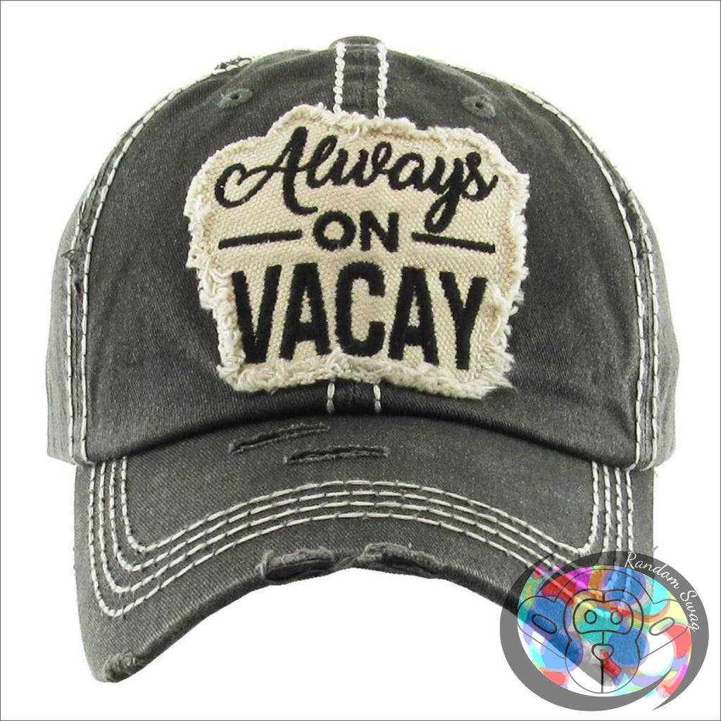 Always on Vacay Cap - Hat