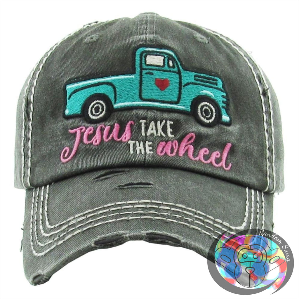 Jesus Take the Wheel Cap - Hat
