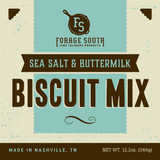 Sea Salt & Buttermilk Biscuit Mix - Forage South