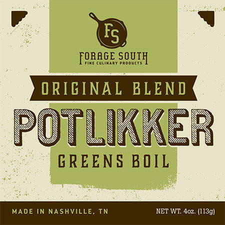 Potlikker Greens Boil - Forage South