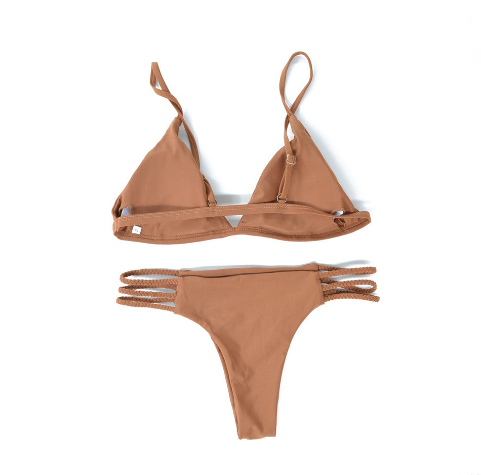 Sienna Braided Brazilian Bikini Set | Shop Elettra |