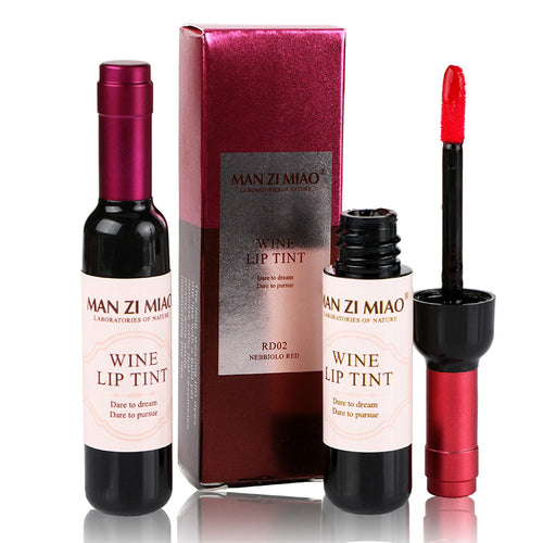 Red Wine Bottle Matte Waterproof Lipstick | Shop Elettra |