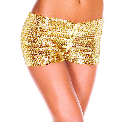 Sequin Hot Shorts | Shop Elettra |