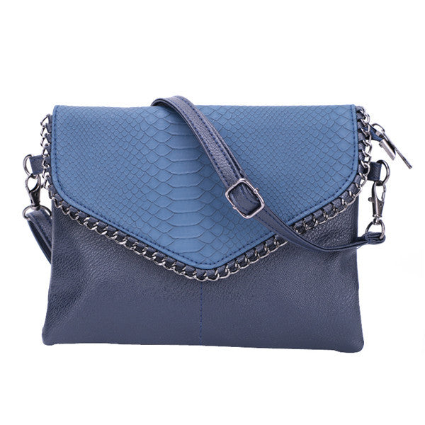 Python Bomba Envelope Shoulder Bag | Shop Elettra |