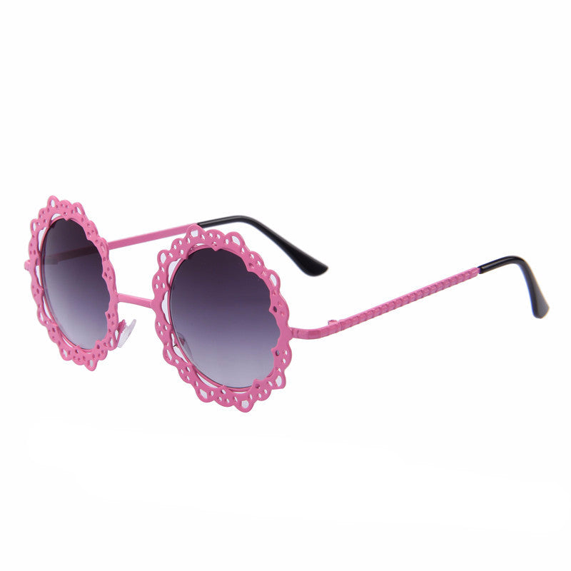 Round Retro Sunglasses | Shop Elettra |
