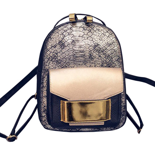 Mason Python Embossed Backpack | Shop Elettra |