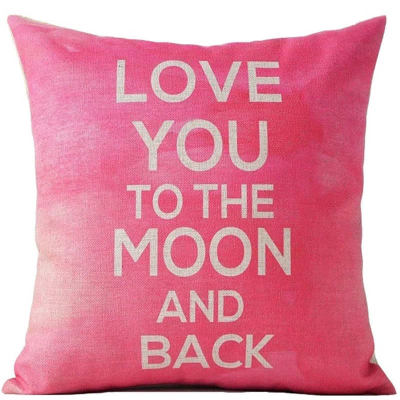 Pink Sweetheart Pillow Cover | Shop Elettra |