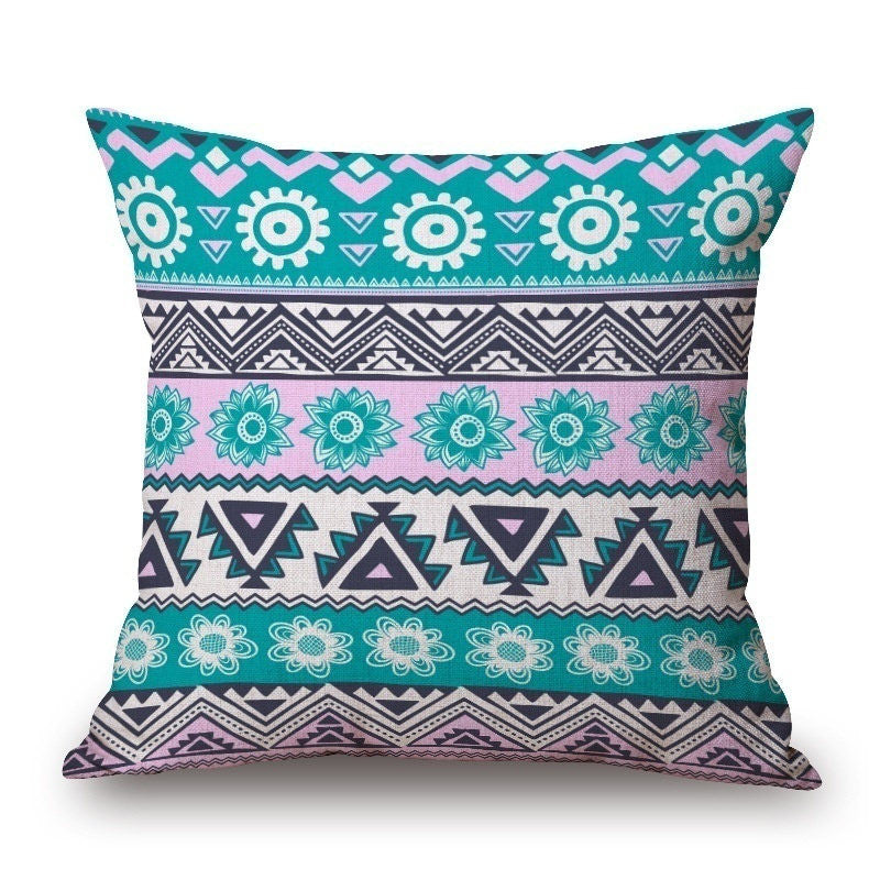 Kaleidoscope 18 x 18 Pillow Cover | Shop Elettra |