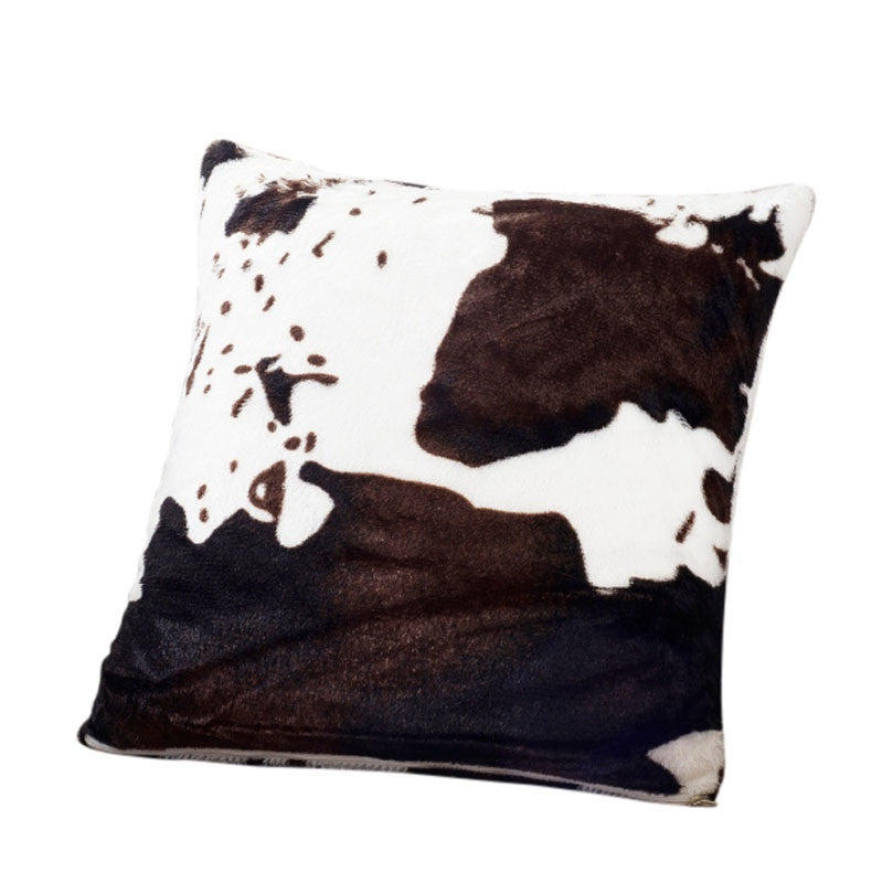 Zebra Print Throw Pillow Cover | Shop Elettra |