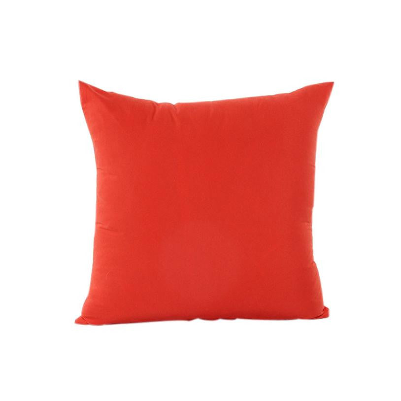 Velvet Solid Color 18 x 18 Throw Pillow Cover ? Shop Elettra