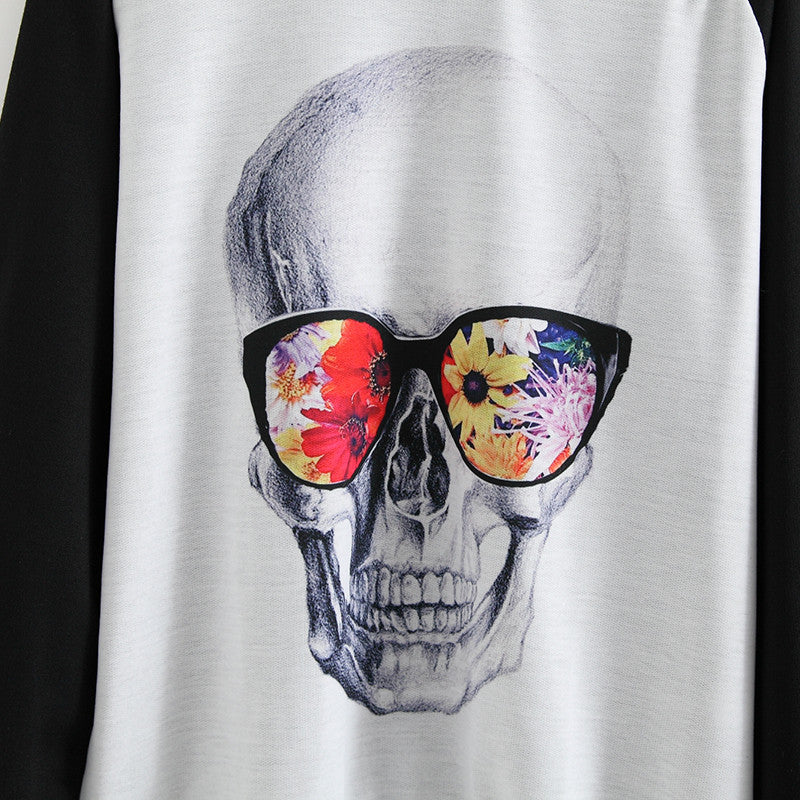 Rad Skeleton Pullover Sweatshirt | Shop Elettra |