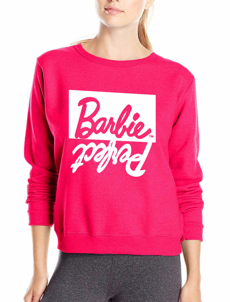 Perfect Barbie Pullover Sweatshirt | Shop Elettra |