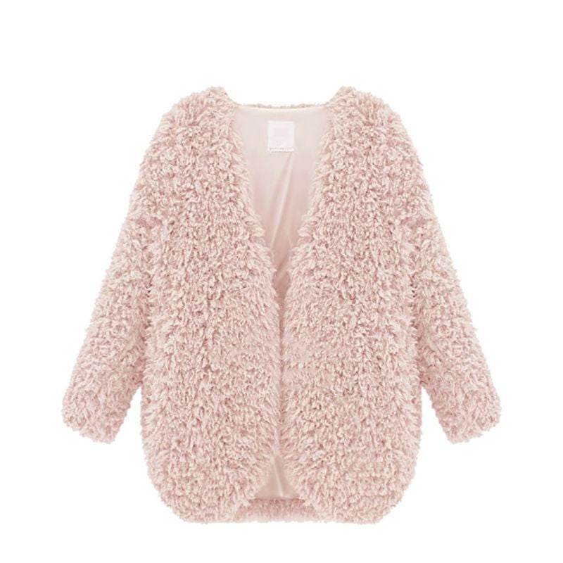 Ronnie Shaggy Faux Fur Coat | Shop Elettra |