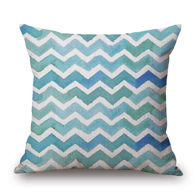 Geometric Print Throw Pillow Cover | Shop Elettra |