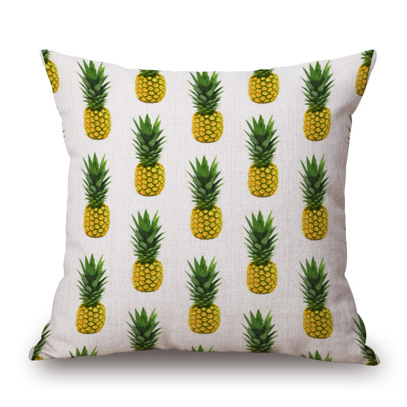 Pineapple Madness Throw Pillow Cover | Shop Elettra |