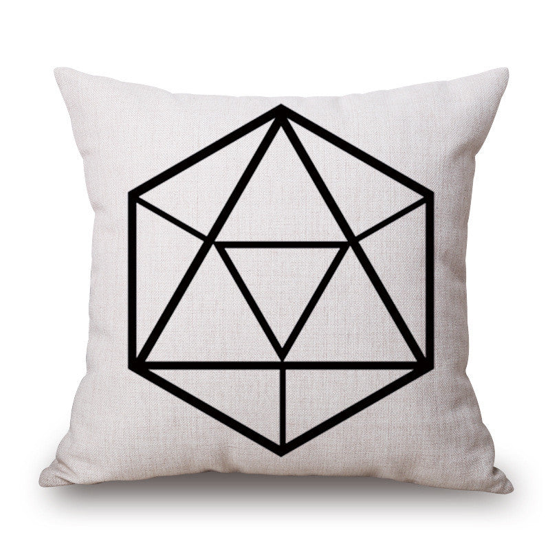 Inked Up 18 x 18 Pillow Cover | Shop Elettra |