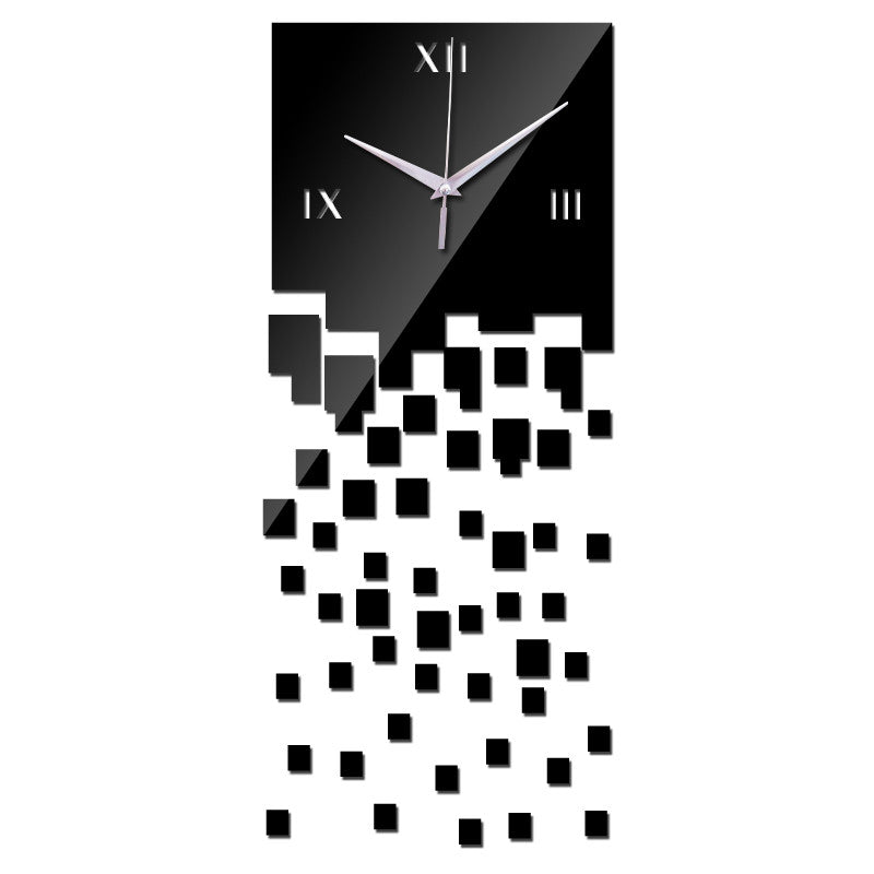 Squared Up Geometric Wall Clock | Shop Elettra |