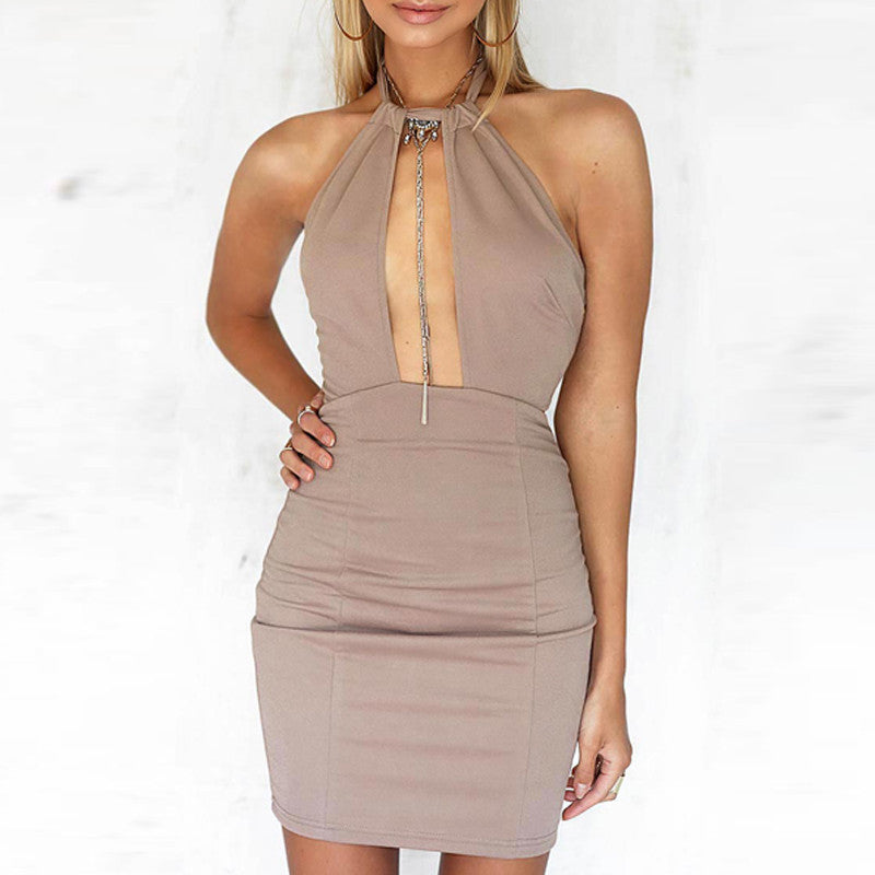 Keyhole Bandage Mini Dress | Shop Elettra |