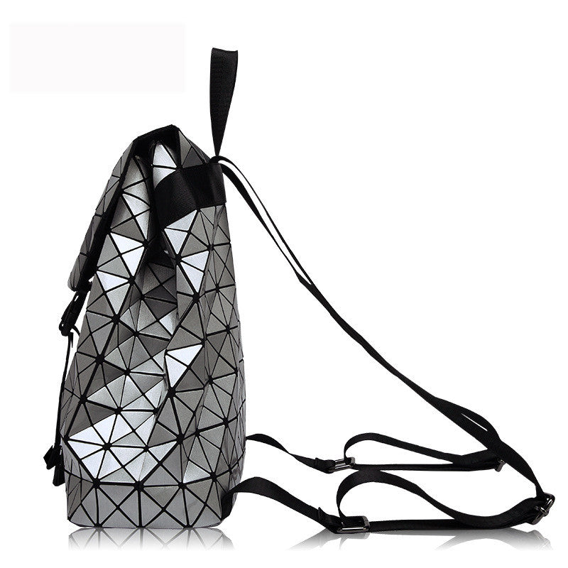 Metallic Patchwork Backpack | Shop Elettra |