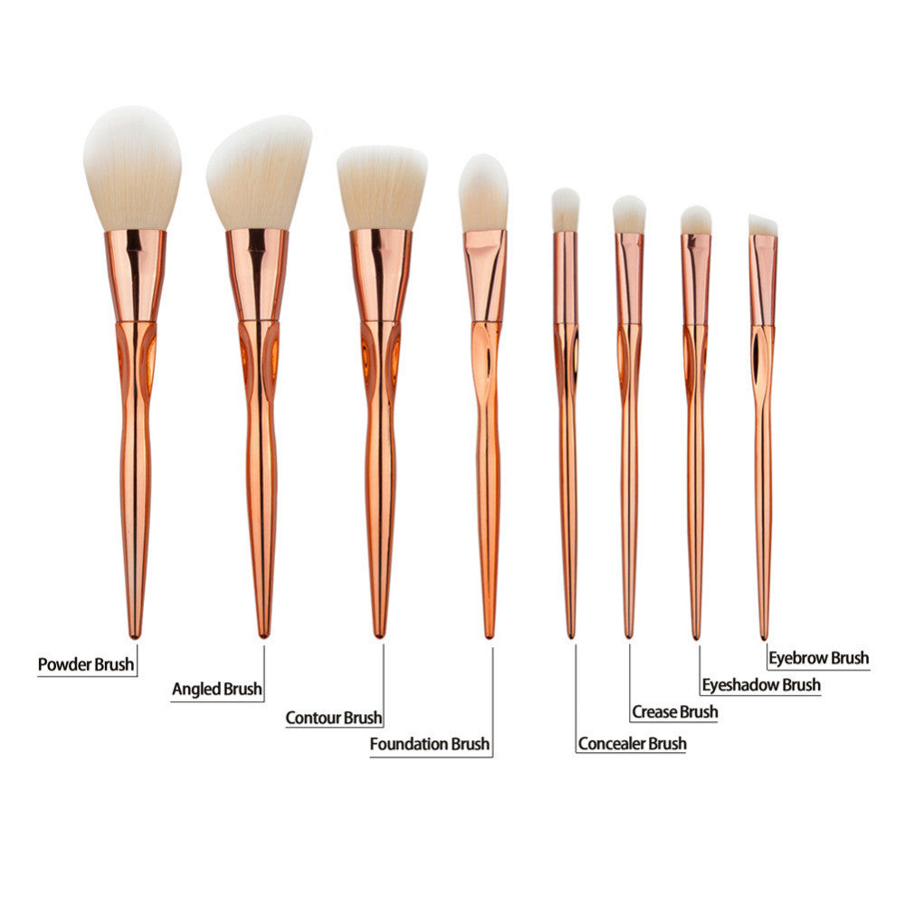 Rose gold Makeup Brushes | Shop Elettra |