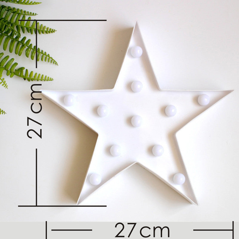 Star Light Marquee Sign LED Lamp | Shop Elettra |