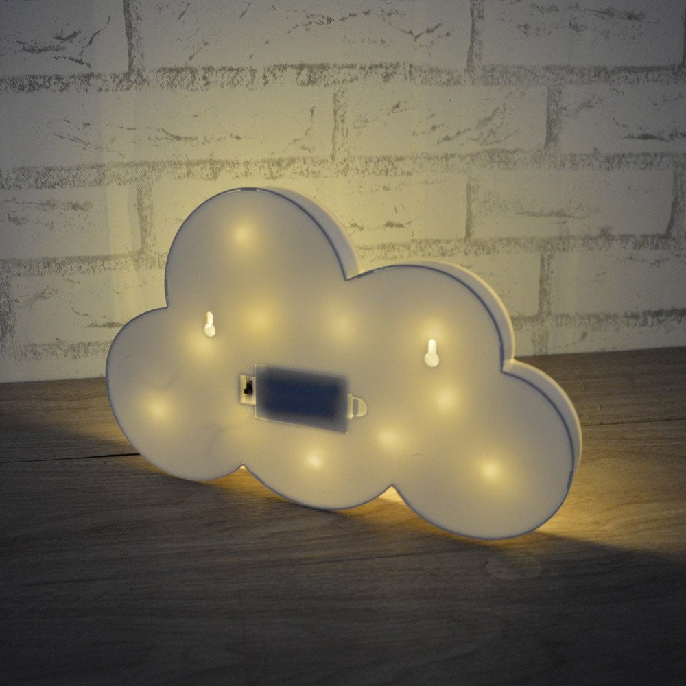 Cloud Cutey Marquee LED Sign Lamp | Shop Elettra |