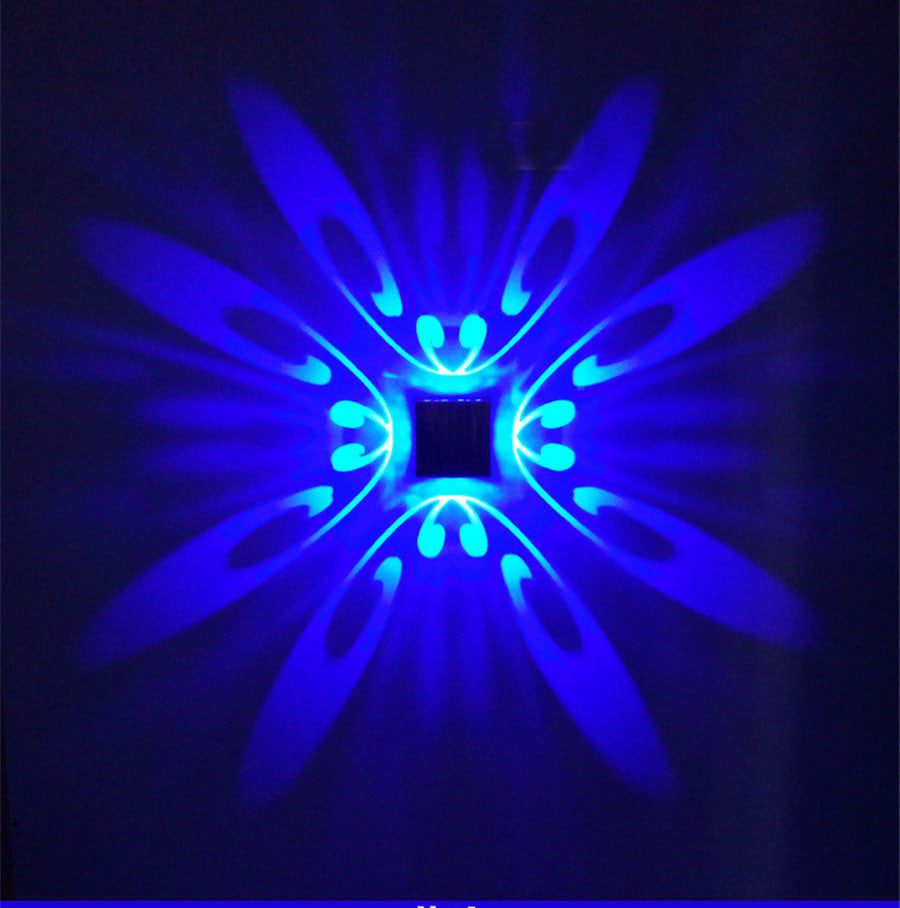 Zinga Butterfly Wall LED Lamp | Shop Elettra |