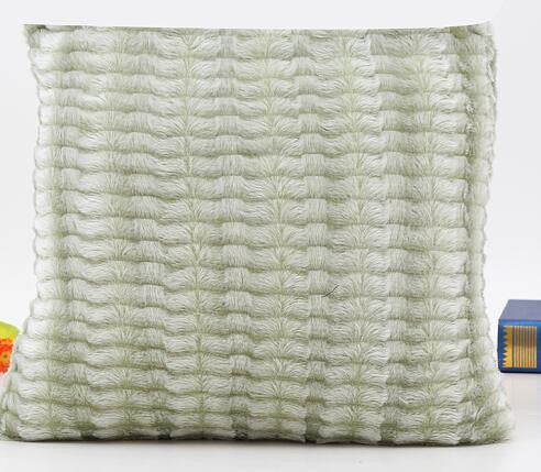 Shayla Faux Fur Throw Pillow Cover | Shop Elettra |