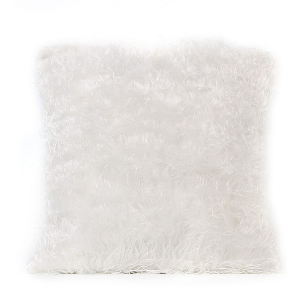 Vegan Fur Shag Throw Pillow Covers | Shop Elettra |