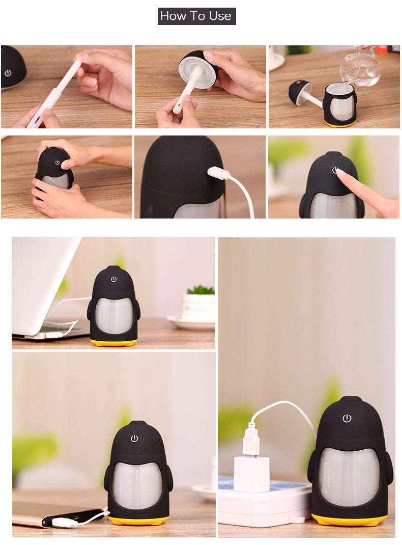 Maka Ultrasonic Air Purifying Humidifier with Mist | Shop Elettra |