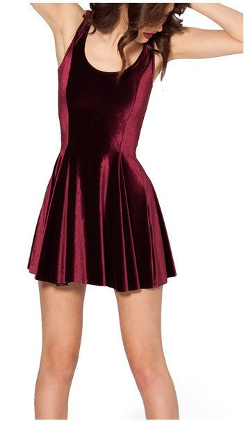 Mave Velvet Mini Dress | Shop Elettra |