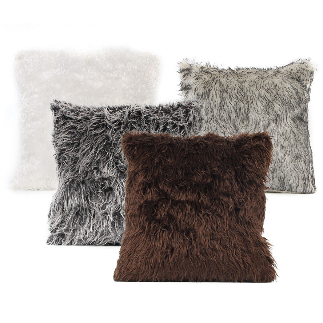 garden shipping product pillow home orders free fur overstock filled throw faux over mongolian on