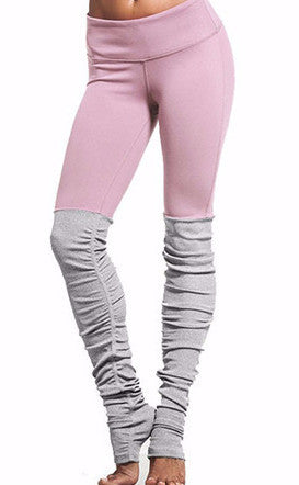 Ballerina Color Block Yoga Leggings | Shop Elettra |